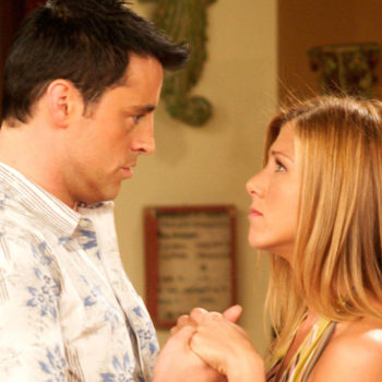 "Jennifer Aniston is not here for your ""Friends"" fan theories about Rachel and Joey"