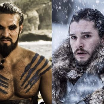 "There were some MAJOR parallels between Jon Snow and Kahl Drogo in the latest ""Game of Thrones"" episode"