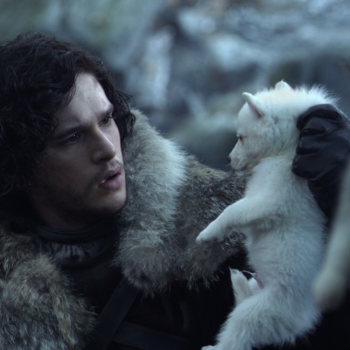 "Stop holding your breath, Jon and Ghost aren't going to be reunited anytime soon on ""Game of Thrones"""