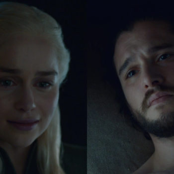 "I'm working through lots of emotions right now, so I gif-ed all the Jon and Dany moments from the latest ""Game of Thrones"""