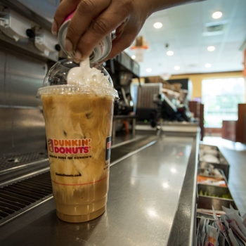 Dunkin' Donuts want you to pick a new iced coffee flavor, and cookie dough *is* an option