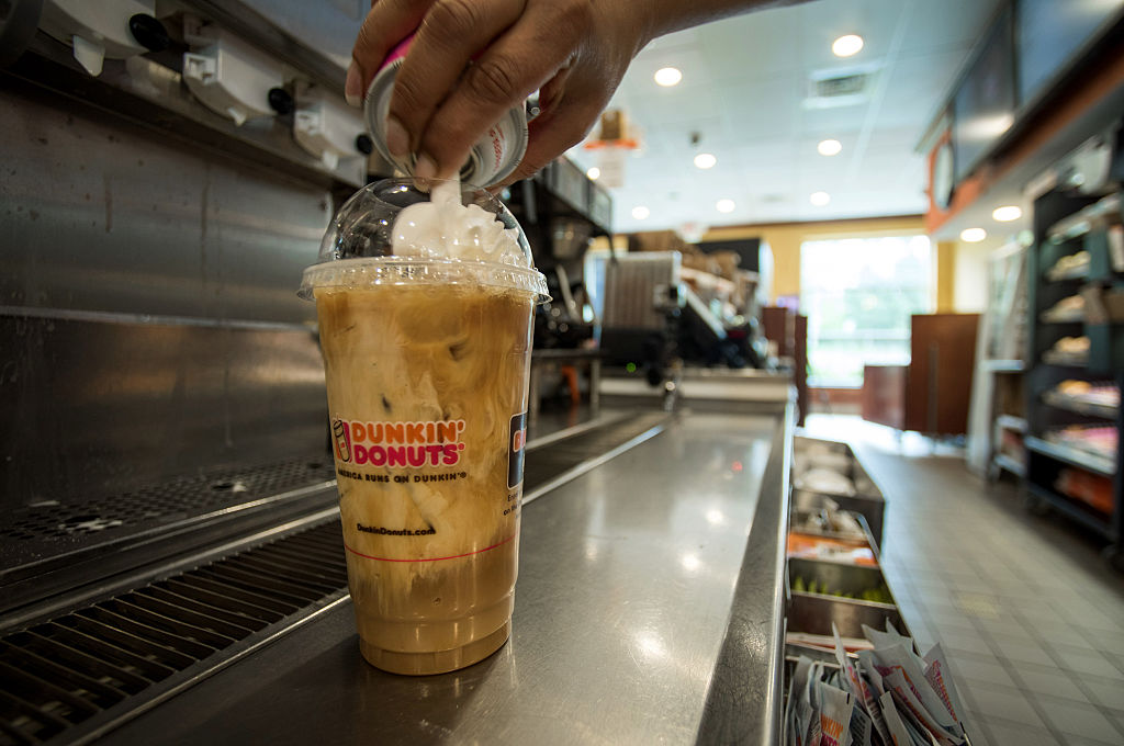 Dunkin' Donuts wants you to pick a new iced coffee flavor, and cookie dough *is* an option