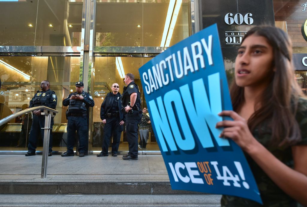 The ACLU is suing the Trump administration on behalf of immigrant teens