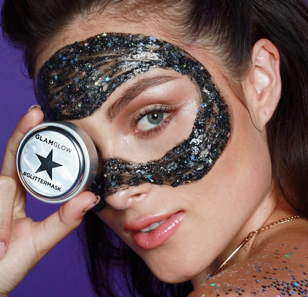 Get ready to sparkle, because GlamGlow is launching a magical peel-off glitter mask