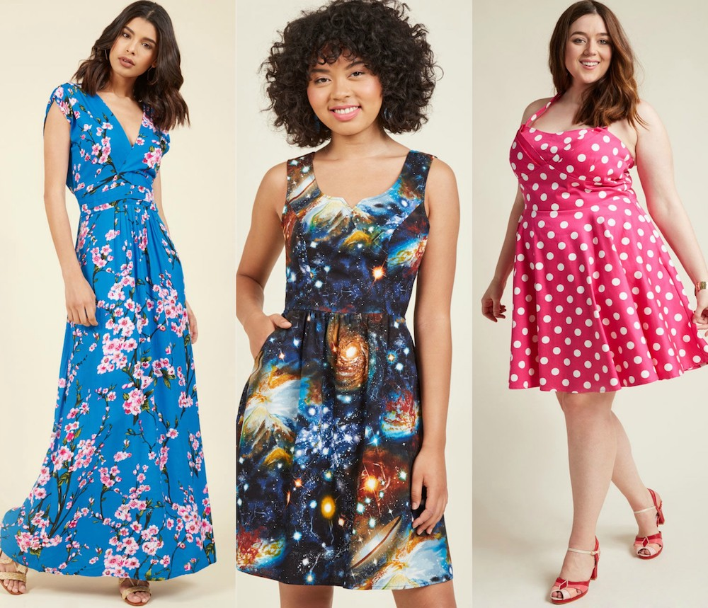 ModCloth is having an amazing deal on dresses, and here's what we're adding to our bag