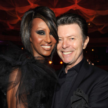 Iman opens up about her history as a model, and touches on late husband David Bowie's legacy