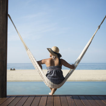 What happens to your body when you relax on vacation
