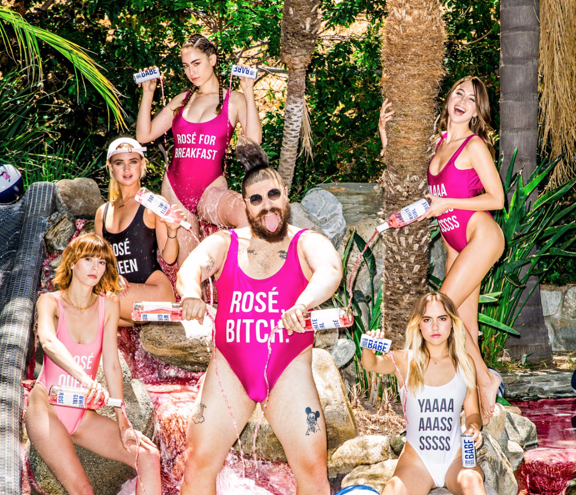 You'll never believe how much rosé people are drinking these days