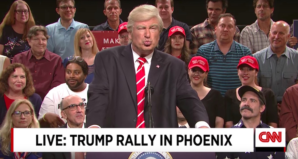 "Alec Baldwin made his return as Donald Trump for the final ""SNL Weekend Update"" of the summer"