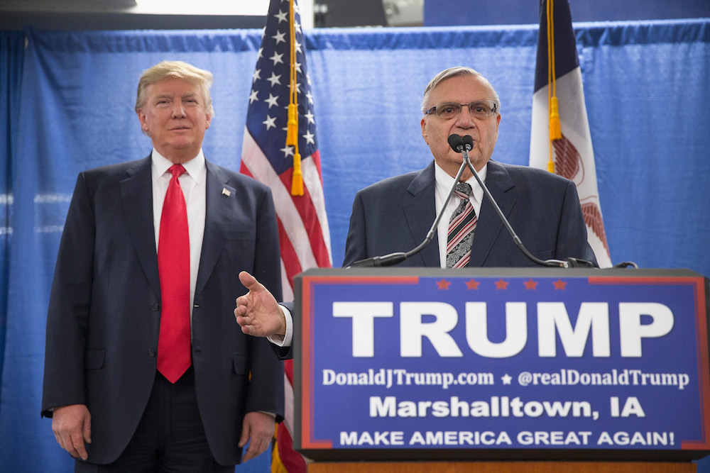 "President Trump just pardoned Joe Arpaio — if you don't yet know why that matters, ""The Phoenix New Times"" has a whole Twitter thread to explain it"
