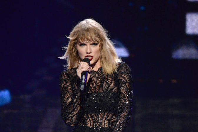 Taylor Swift's label says her album's release date has nothing to do with Kanye West