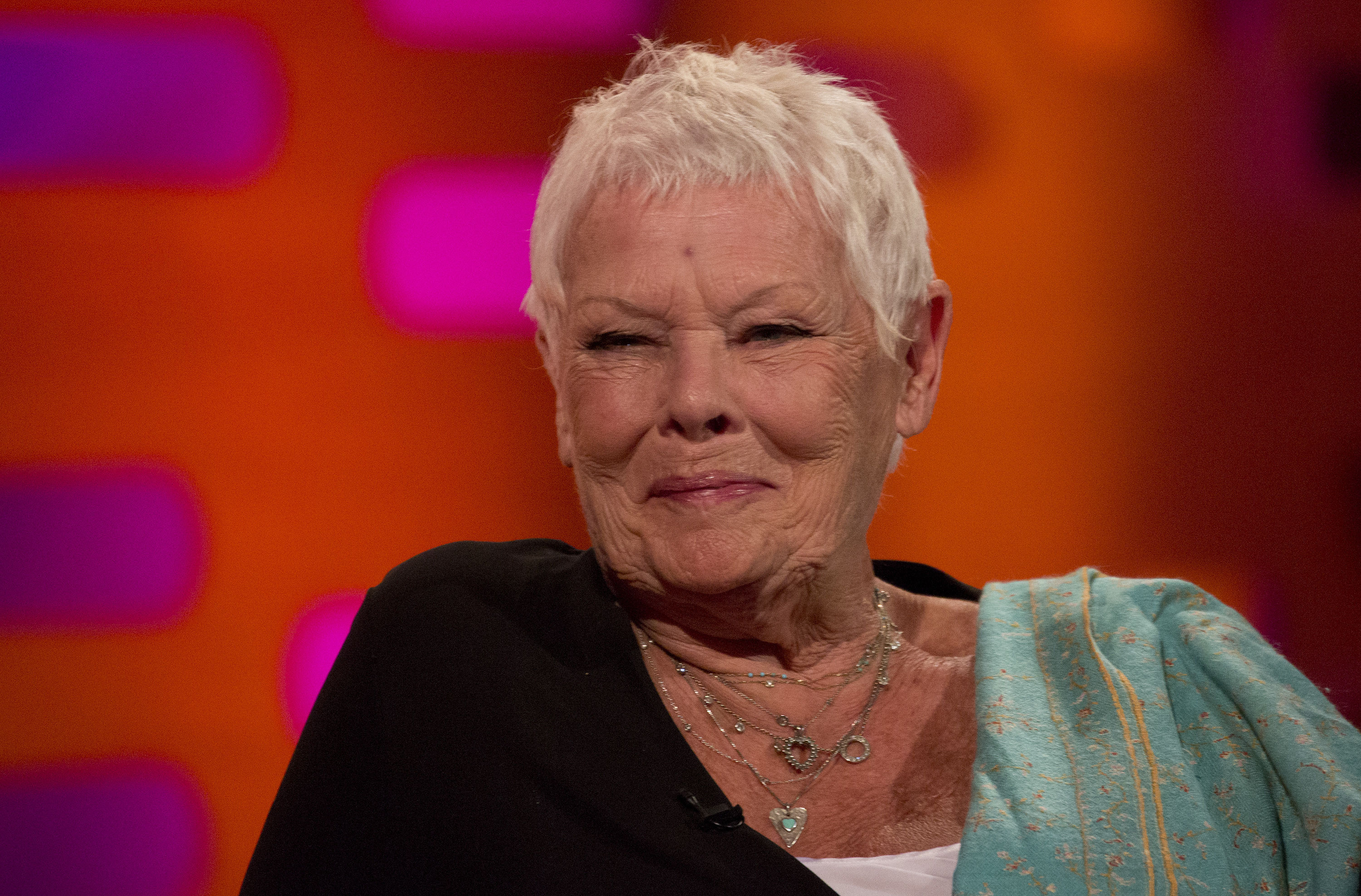 "Dame Judi Dench does NOT want to be called a ""national treasure,"" thank you very much"
