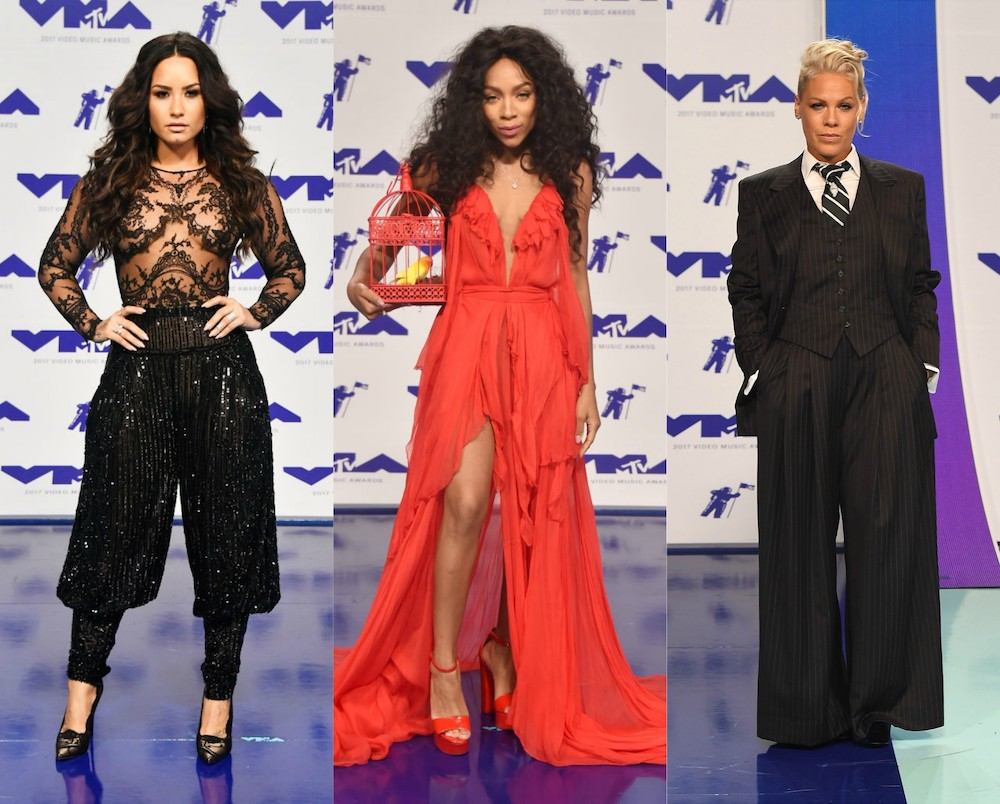 Here are 16 of the most outrageously glam looks from the VMAs red carpet