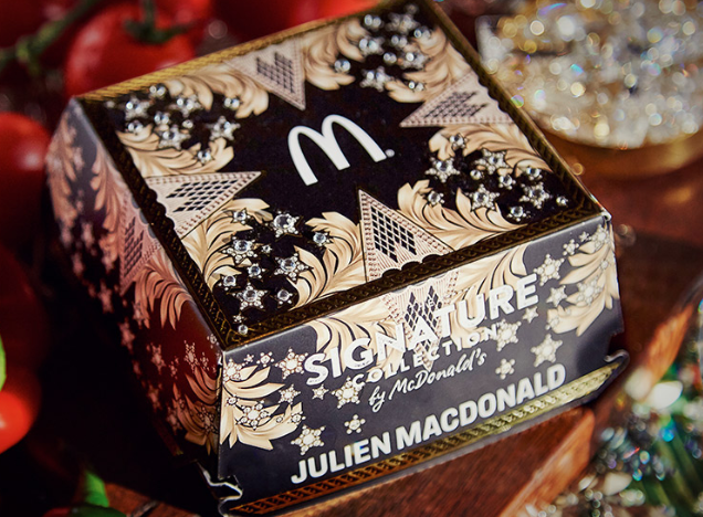 McDonald's is giving away a bejeweled burger box, and omg