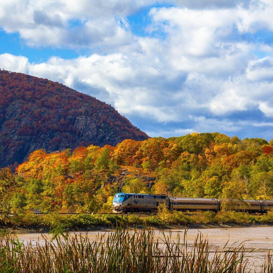 You can book a seat on the most picturesque fall train ride for only $58