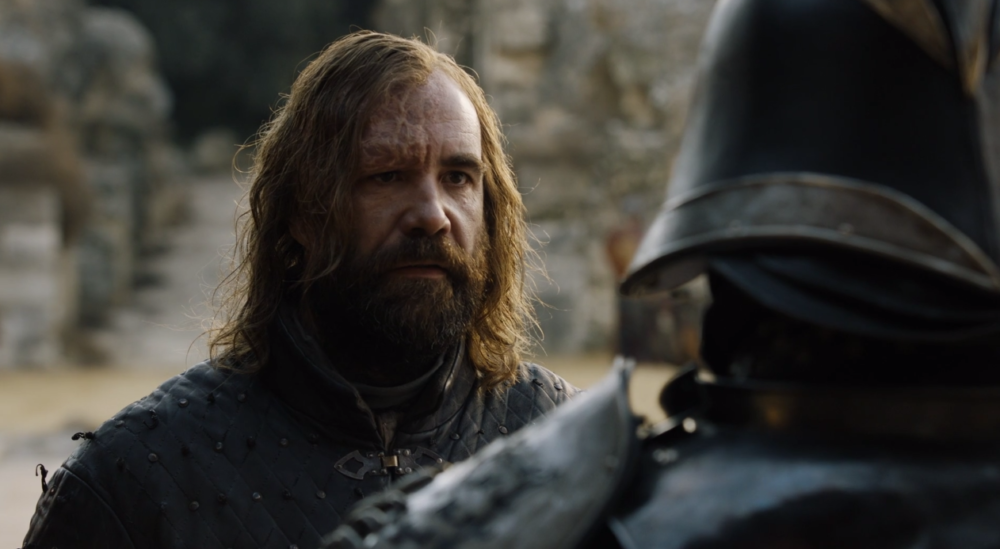 The IRL Hound and Mountain have already started talking smack in preparation for Cleganebowl