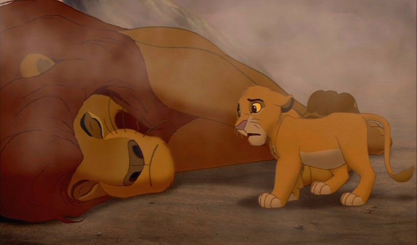 """Mufasa's death in a stampede was the only thing that never changed during the making of """"The Lion King"""""""