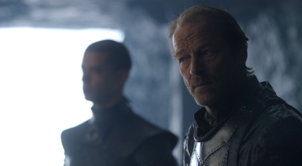 "Ser Jorah is totally still upset about losing Dany's affection on ""Game of Thrones,"" and boy, love hurts"