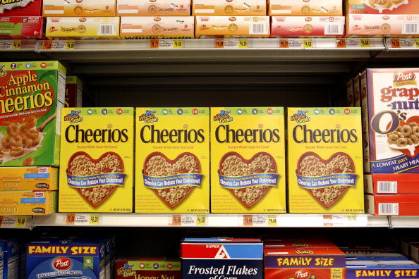 So, Cheerios tried to trademark the color yellow