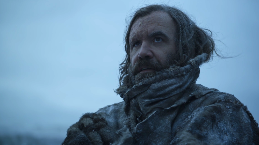 "I'm still really PO'ed at the Hound, and baffled that the ""Game of Thrones"" characters weren't"