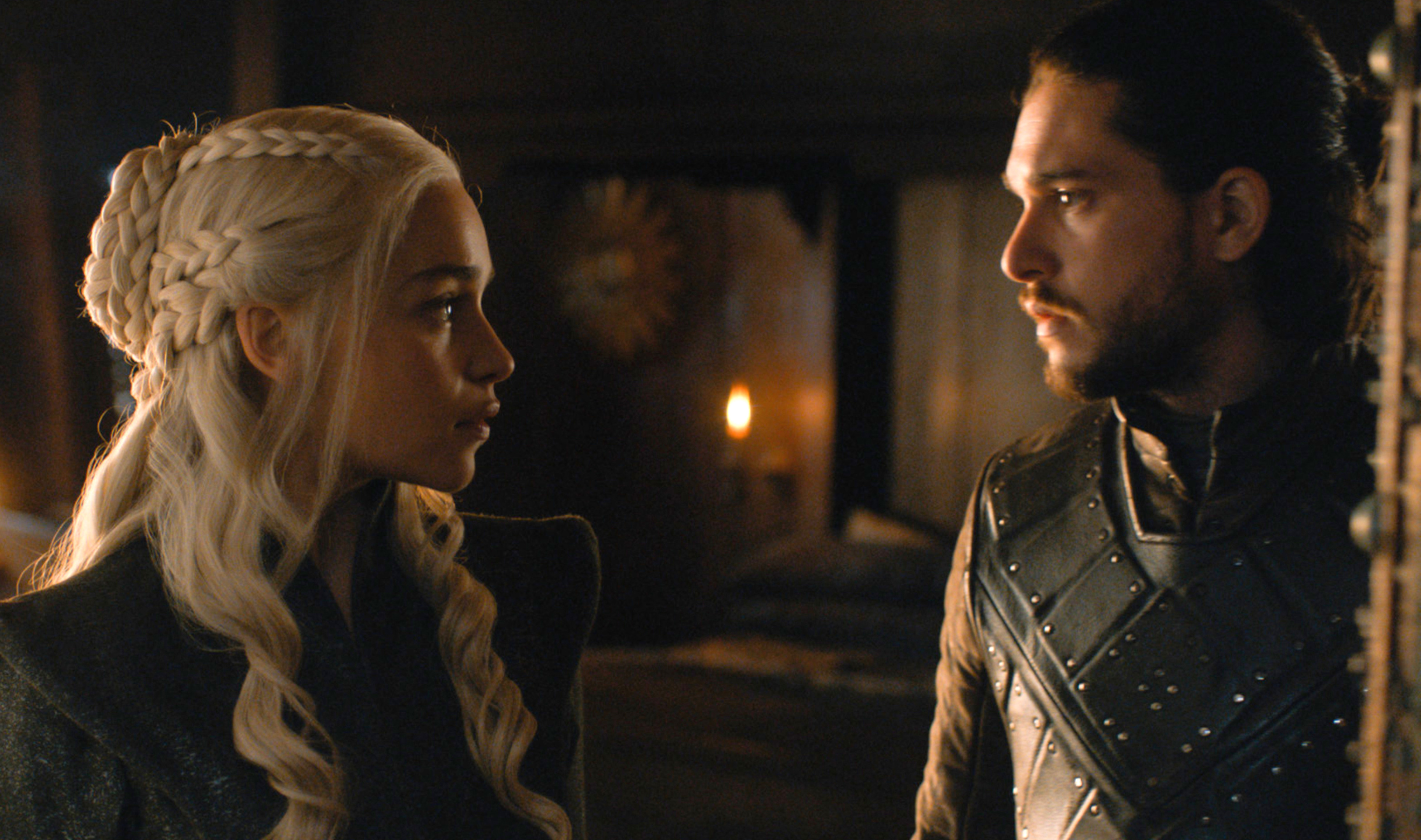 "Emilia Clarke and Kit Harington both agree — their ""Game of Thrones"" sex scene was weird"