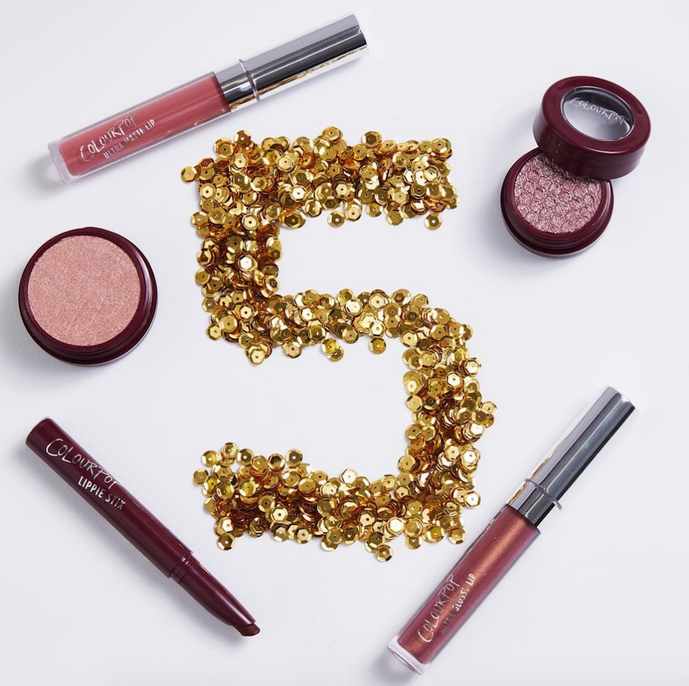 ColourPop is celebrating its followers by releasing a grab bag full of free makeup goodies