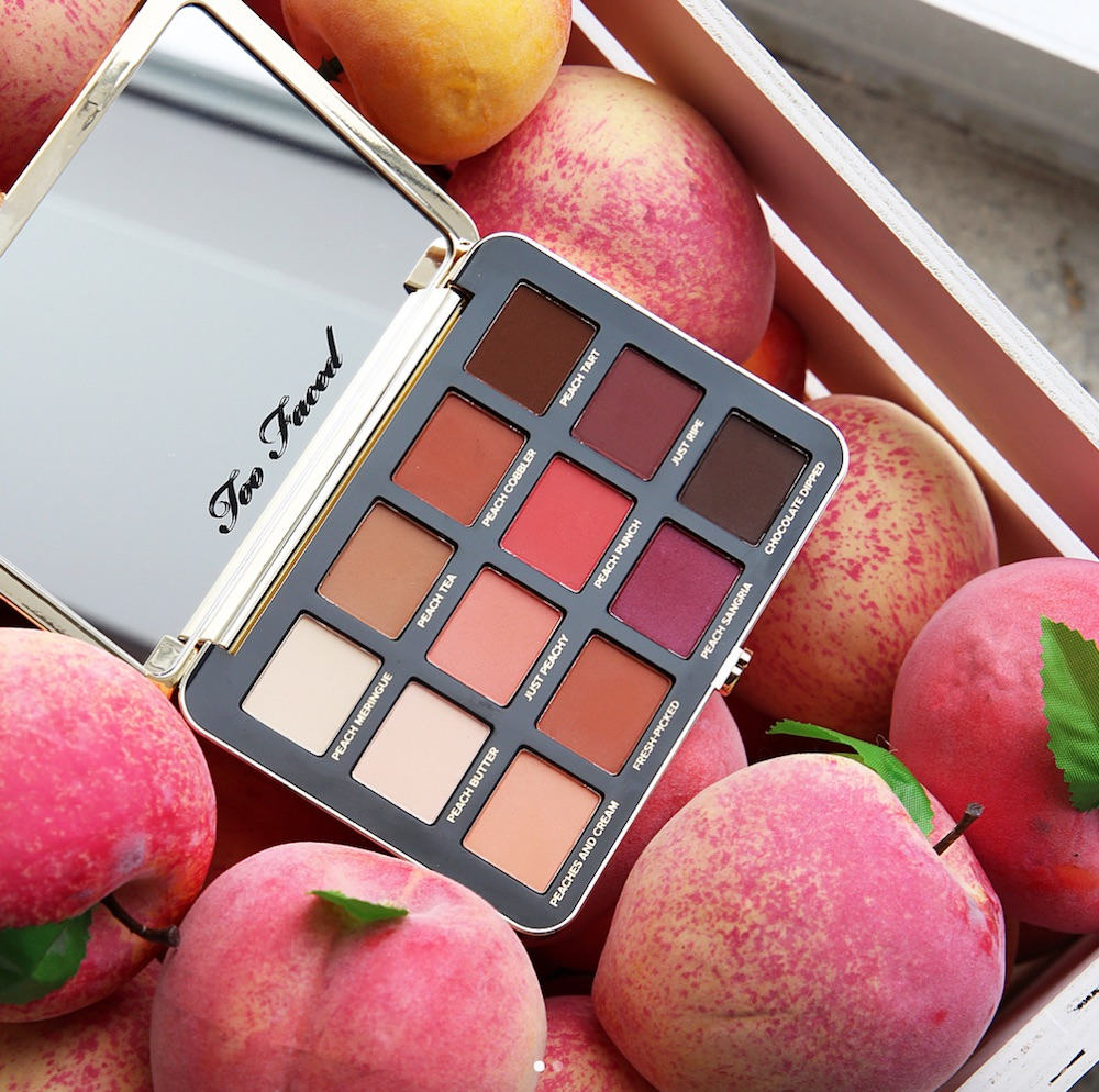 Bye, bye money: Sephora released Too Faced's Just Peachy matte eyeshadow palette early