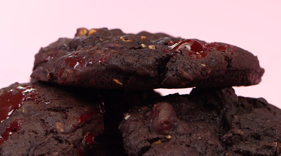 Cure all your period cravings with these chocolatey PMS-relief cookies