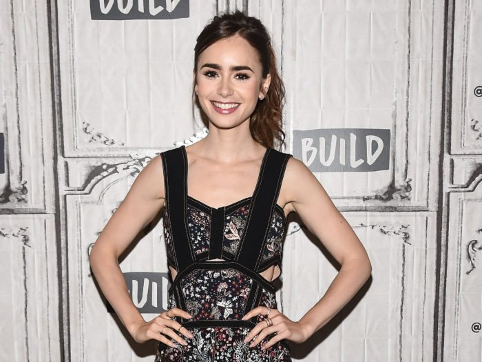 Precious! Lily Collins Signs on to Star in JRR Tolkien Biopic