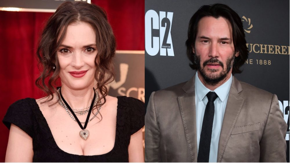 Winona Ryder and Keanu Reeves are starring in a rom-com together, and this is the '90s pairing of our dreams