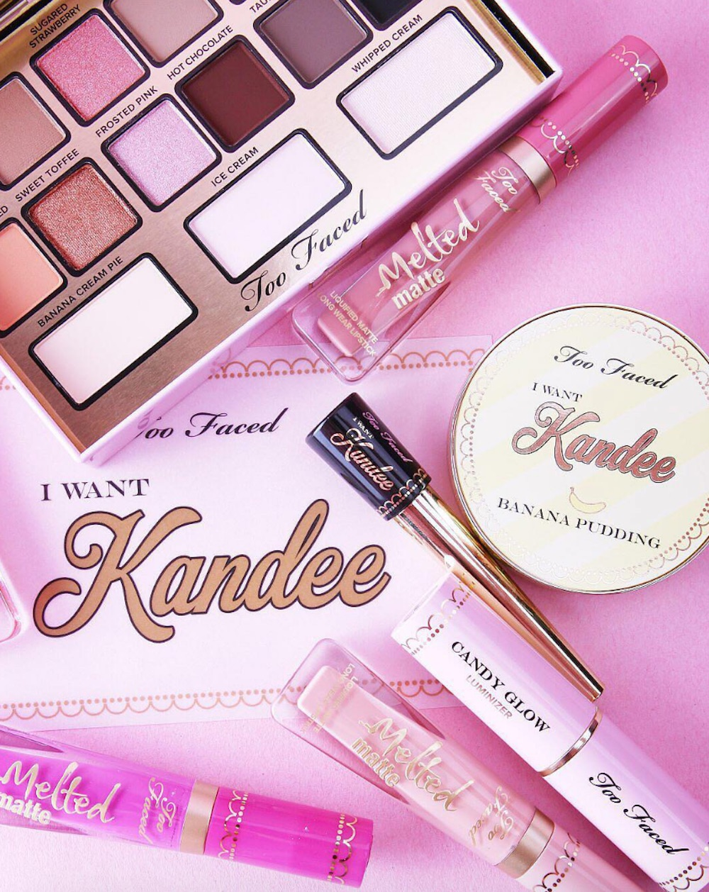 Ulta released the Too Faced x Kandee Johnson collection early, and it's a delicious treat