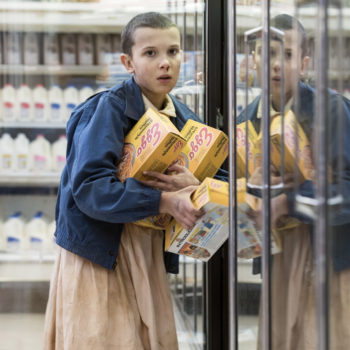 """""""Stranger Things"""" got a video game-style recap, and naturally, Eggos help you level up"""