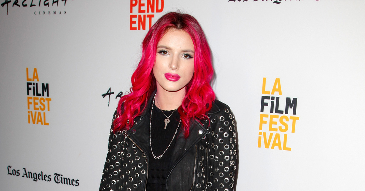 People were totally freaking out about Bella Thorne's necklace, and here's why