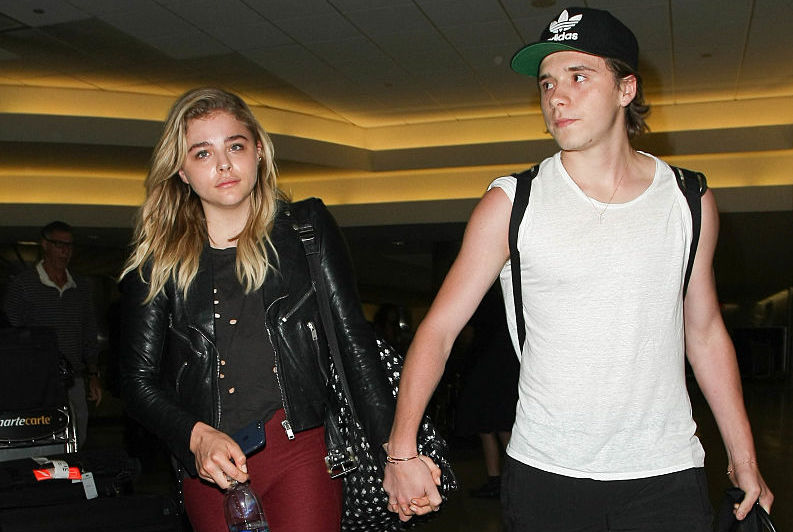 The internet thinks Chloë Grace Moretz and Brooklyn Beckham are back together — because of an emoji