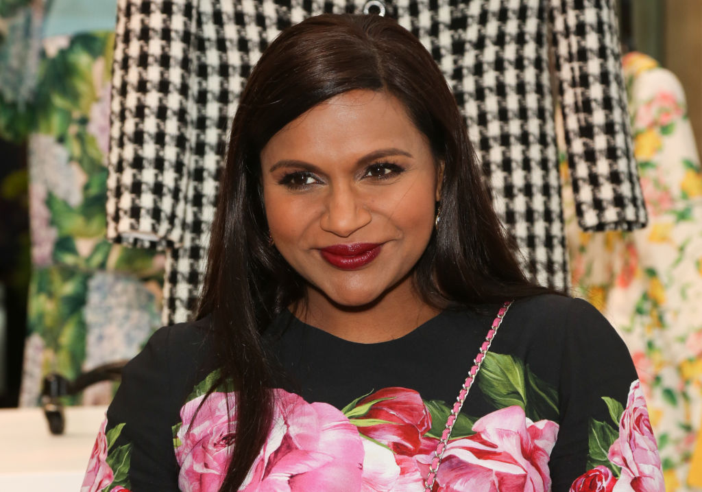 "Mindy Kaling opens up about her love life being ""a little more mysterious"""