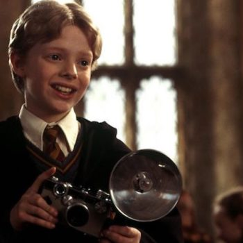 "So, the actor who plays Colin Creevey in ""Harry Potter"" is ACTUALLY a photographer IRL"