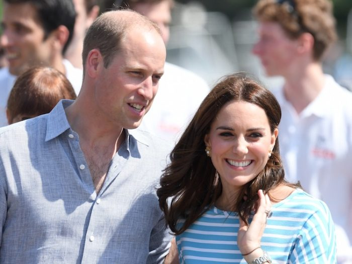 Pregnant Kate 'is likely to miss Prince George's first day of school'