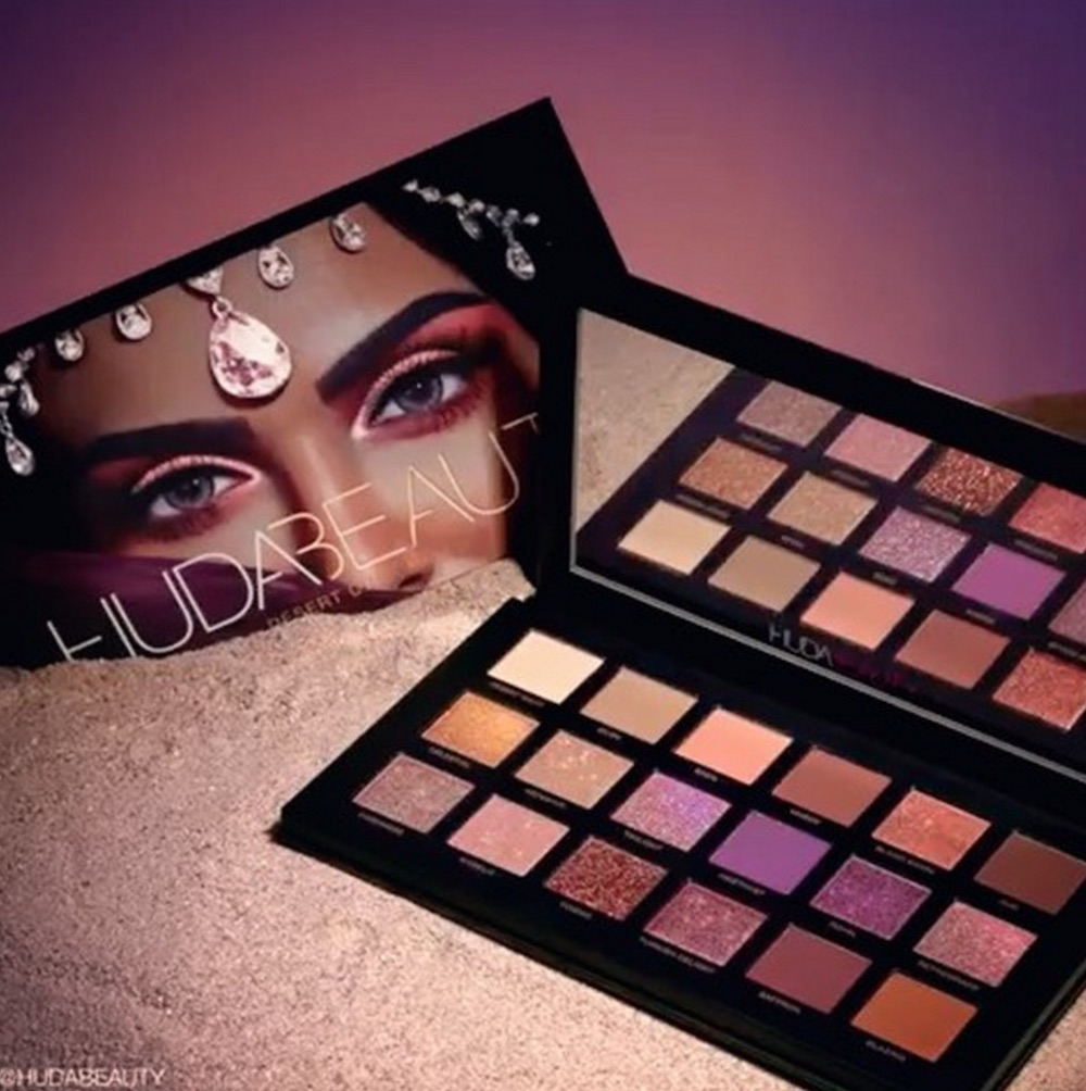 Huda Beauty's highly anticipated Desert Dusk eyeshadow palette is launching SO soon