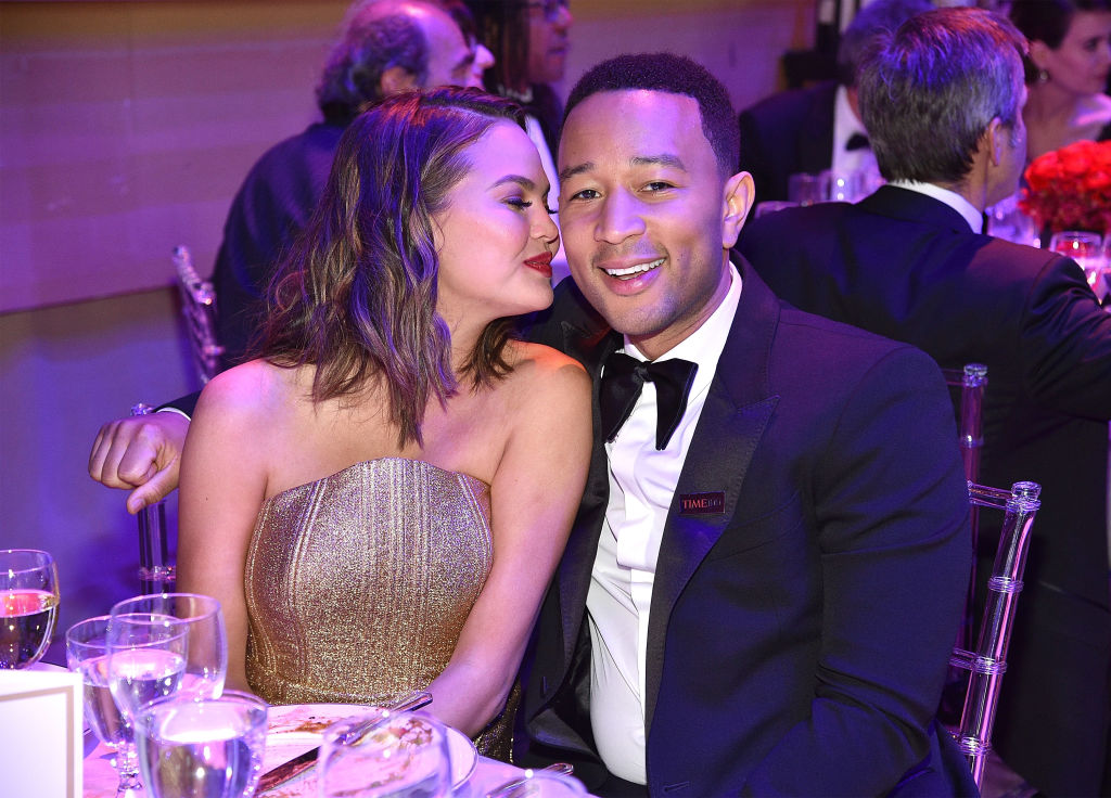 "Chrissy Teigen clarifies John Legend's breakup comments, says he was just being ""whiny"""