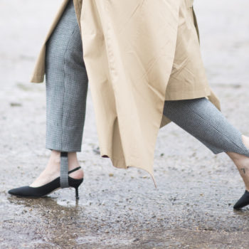 Stirrup pants and kitten heels are the fall 2017 fashion trend to watch out for