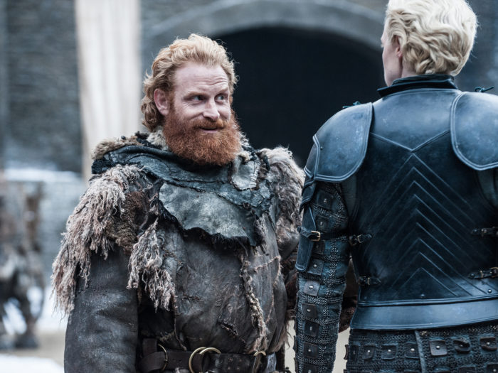 Gwendoline Christie says Tormund actor creeps her out between takes