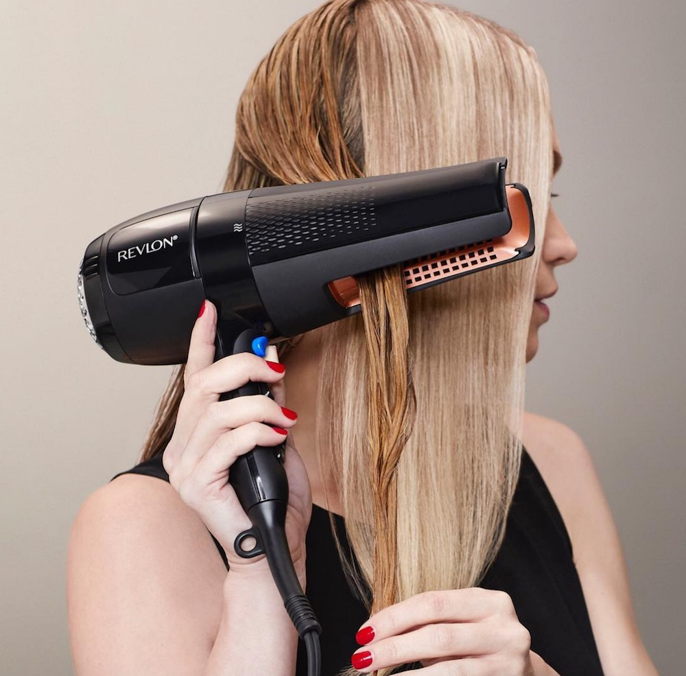Revlon released a new blow dryer that will forever change the way you dry and style your hair