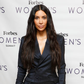 Kim Kardashian just debuted a brand new hair color, and she looks like a Malfoy