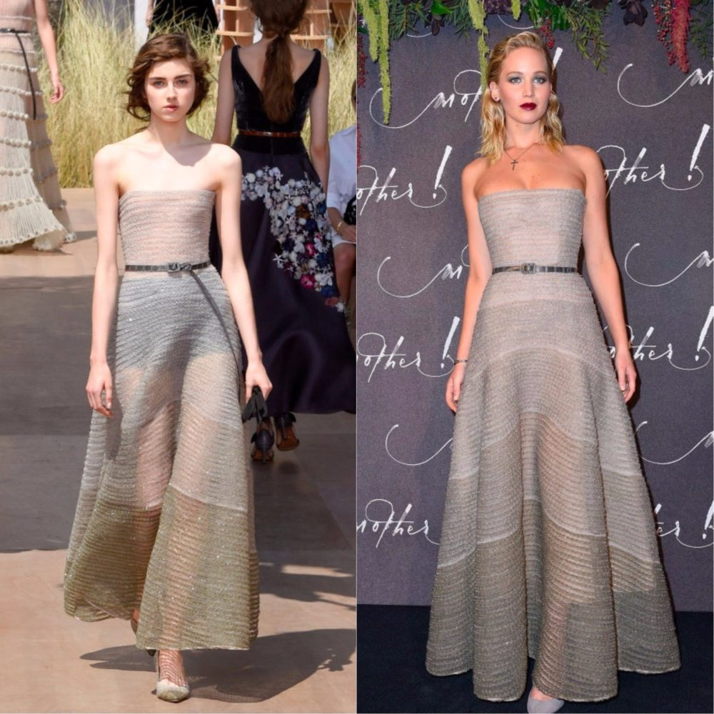 7 unforgettable runway dresses and the celebs who wore them IRL