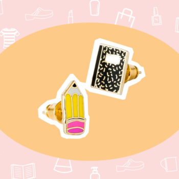 WANT/NEED: School supplies-themed earrings, and more stuff you'll want to buy