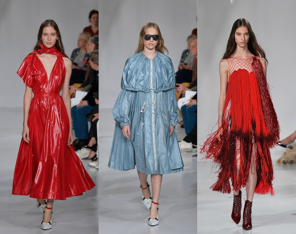 Calvin Klein's latest runway collection was inspired by horror movies and scream queens