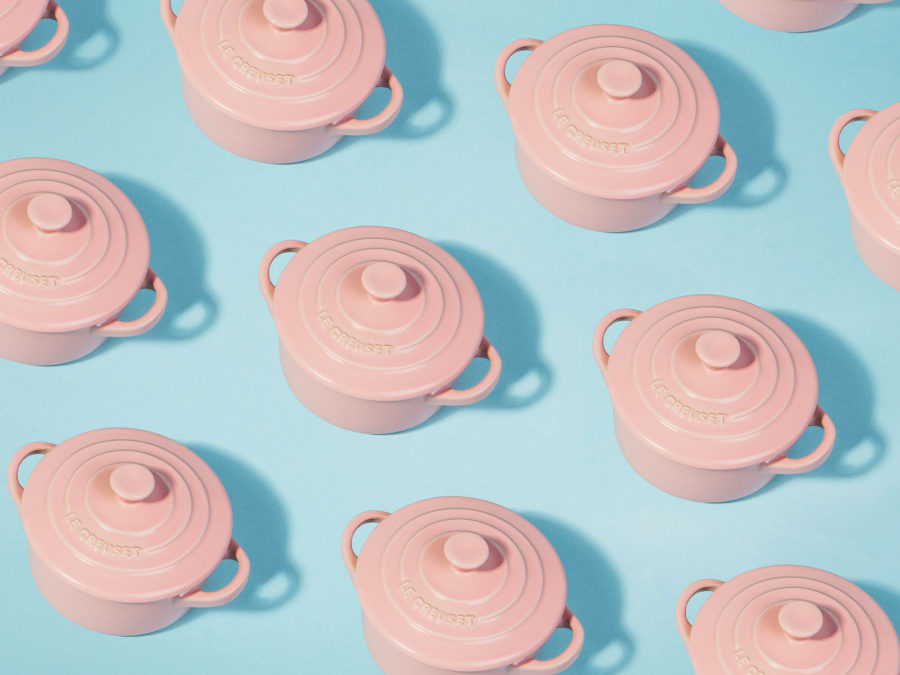 This brand just launched a line of millennial pink cookware, so plan your next dinner party ASAP