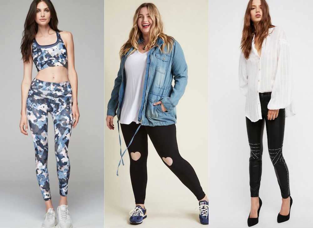 9 leggings that you can wear to class without looking like a lazy dresser