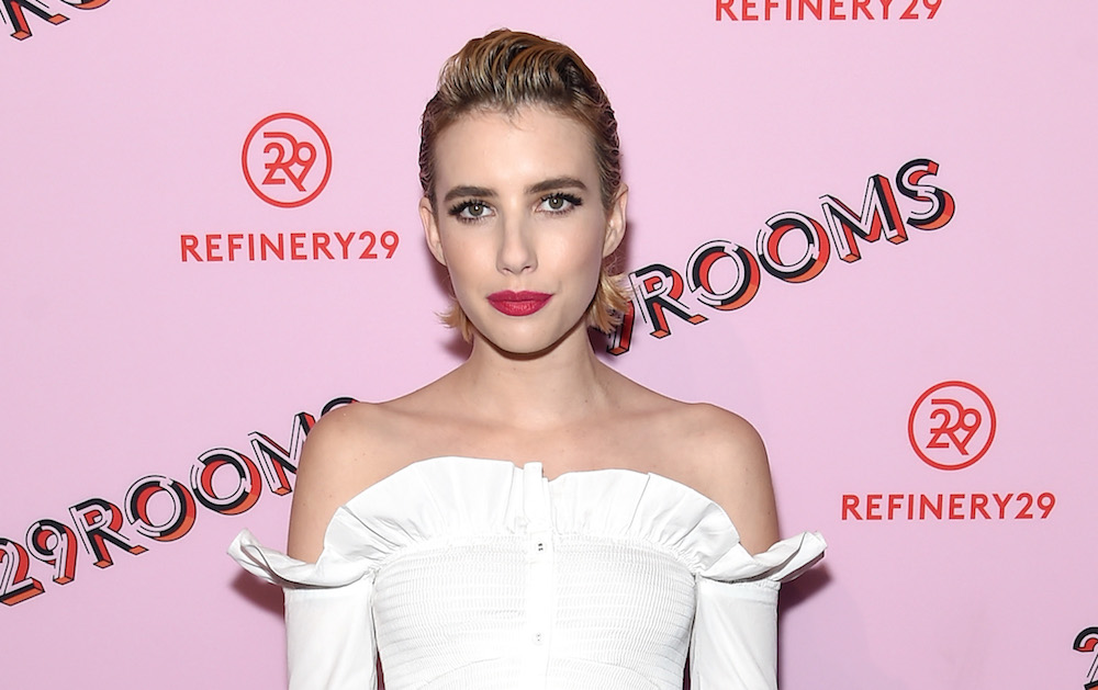 Emma Roberts wore a white top and jeans on the red carpet, but it's not as basic as you'd think