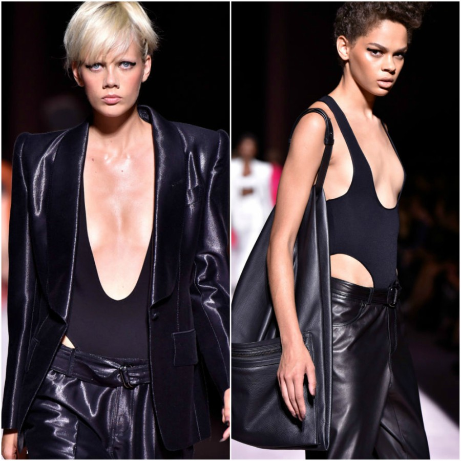 Thong bodysuits are the hottest trend so far at New York Fashion Week